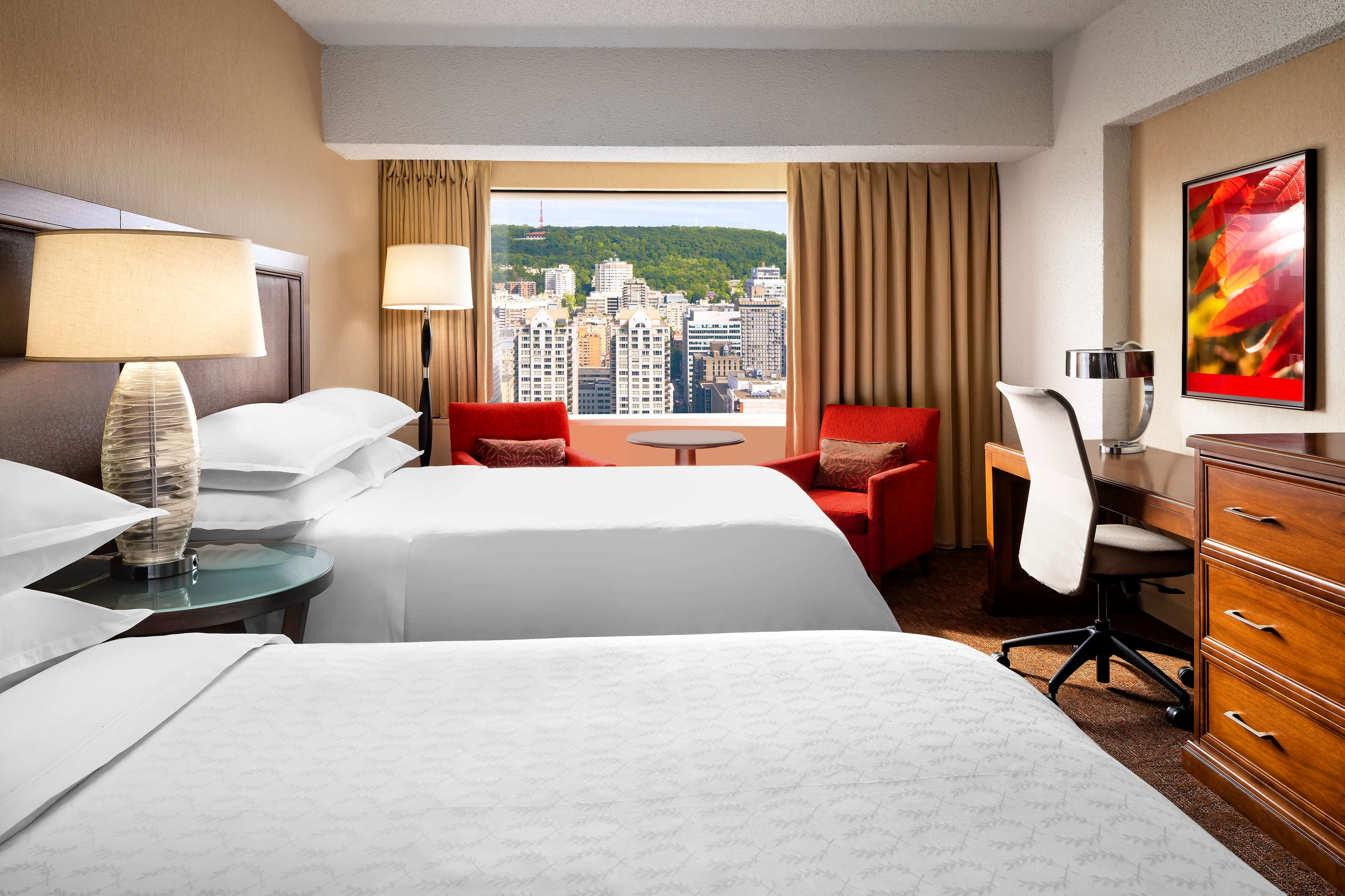 Le Centre Sheraton Montreal Hotel à Montreal: Chambre traditionnelle, 2 lits doubles Traditional Guestroom, 2 Double Beds