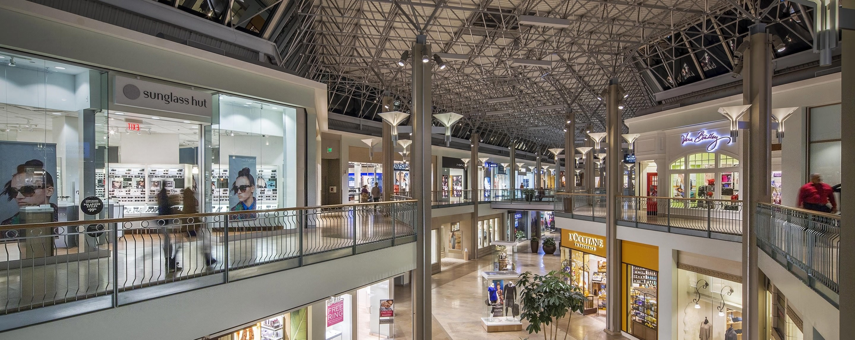 The Mall in Columbia, also known as the Columbia Mall, is the central shopping mall for the planned community of Columbia, Maryland, United States. It has five anchor department stores (Sears, JCPenney, Nordstrom, Macy's, and Lord & Taylor) and over specialty stores.