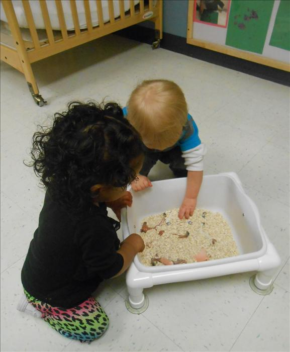 This is What Learning Looks Like: Building brain power as we discover, explore, and use our senses.