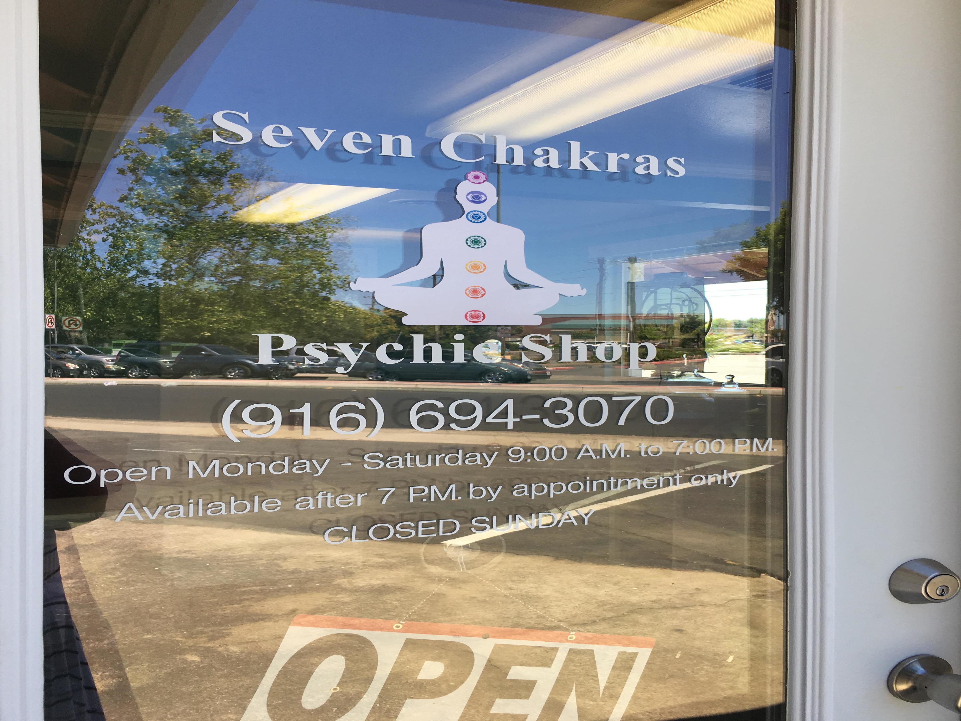 Seven chakras psychic shop image 0