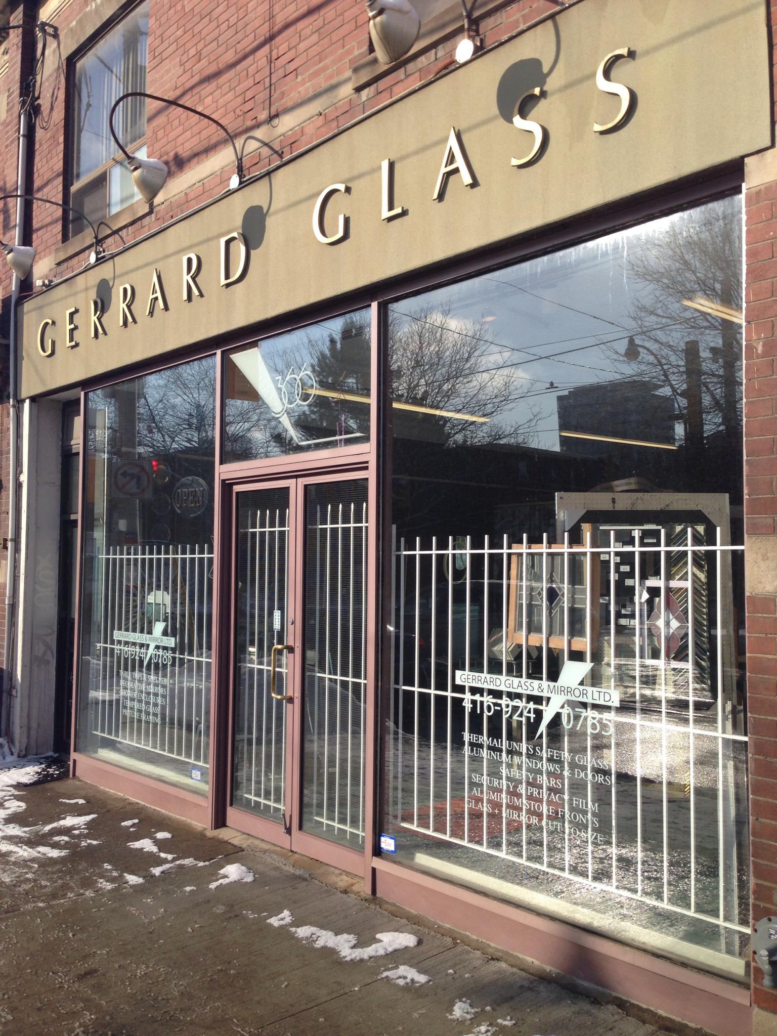 Gerrard Glass & Mirror Ltd 366 Gerrard St E Toronto, ON Auto Glass
