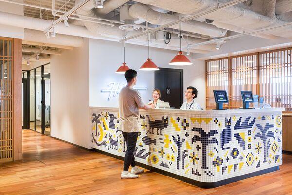 WeWork Nippon TV Yotsuya Building