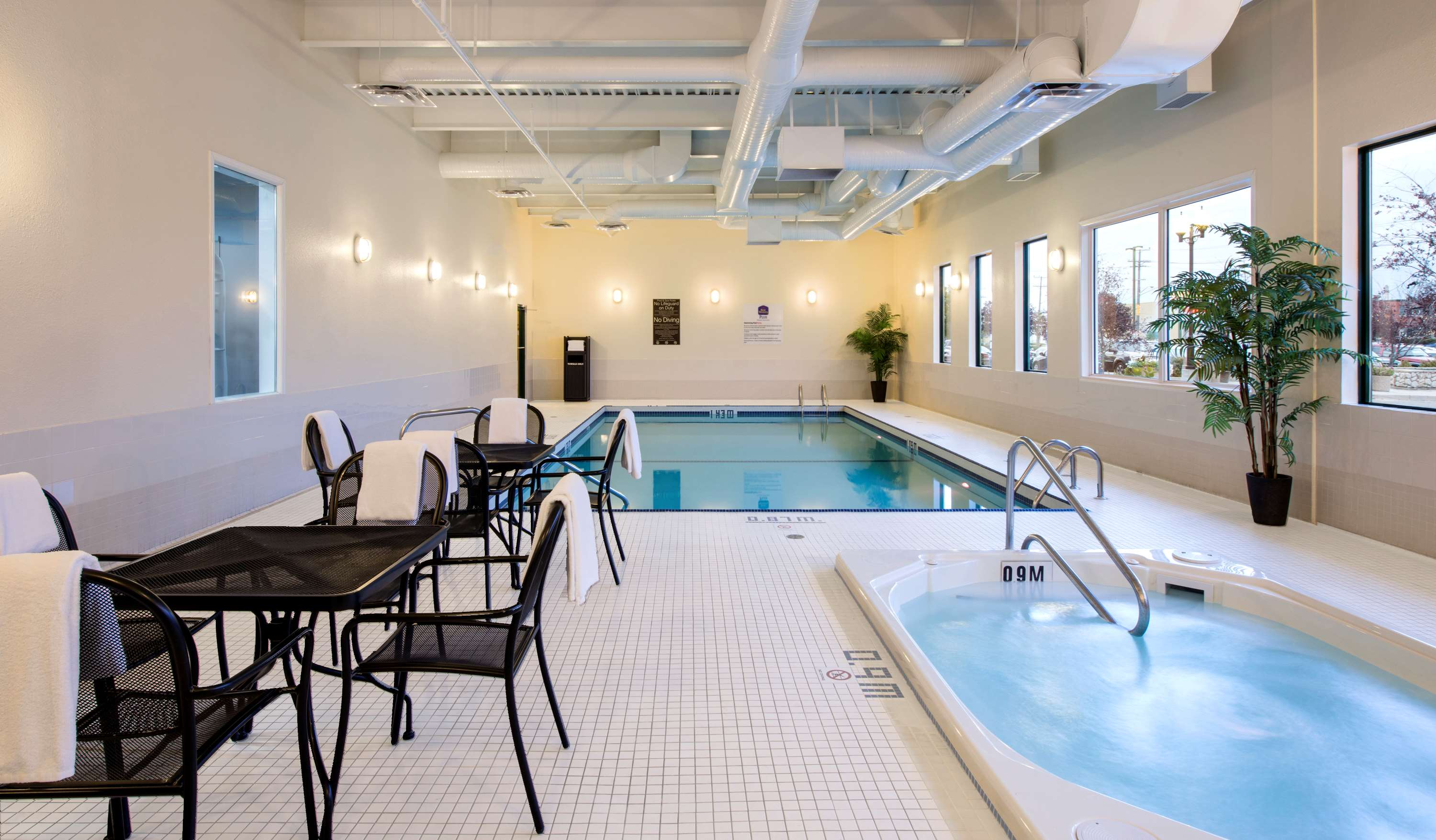 Portage Hotels Indoor Pool