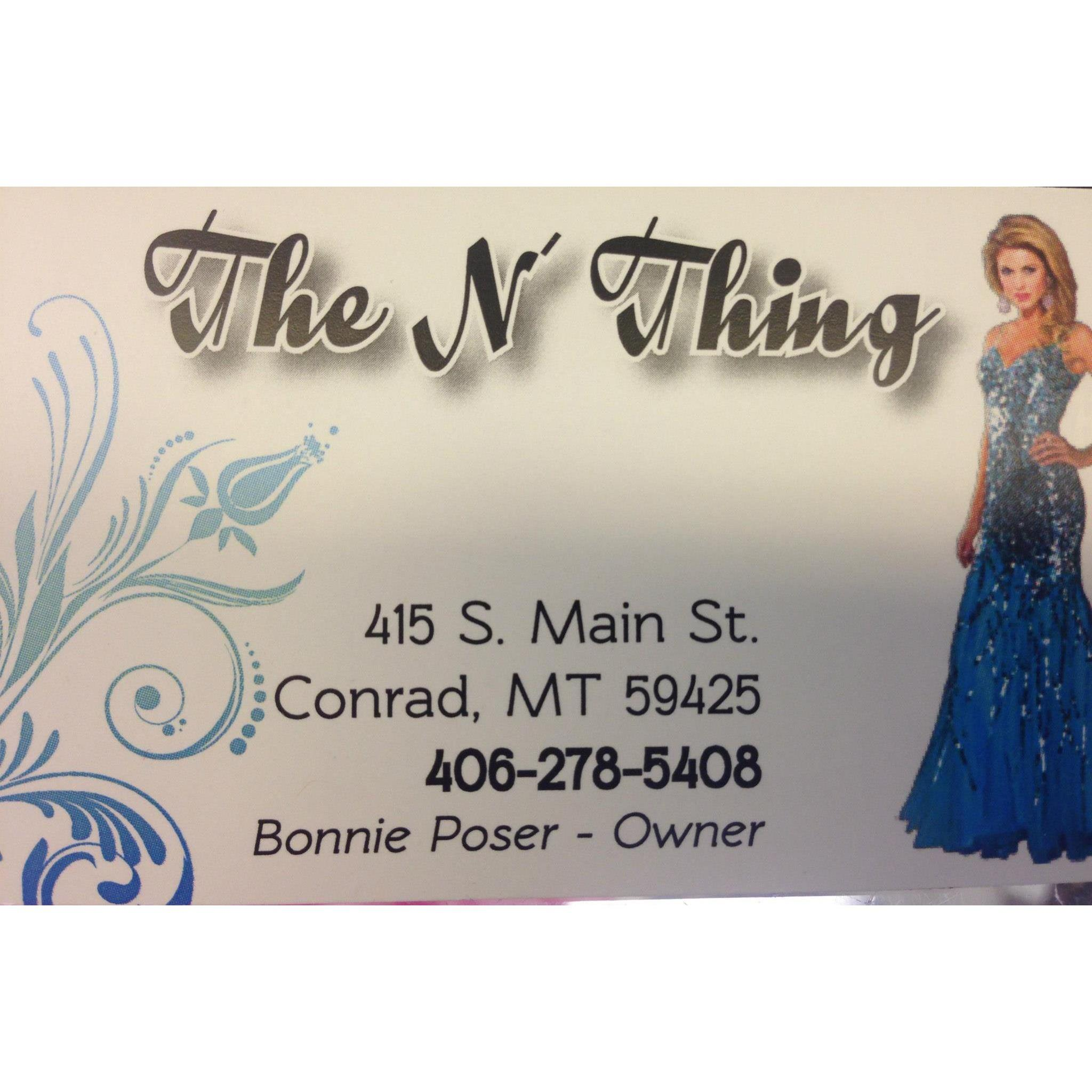 The N Thing 415 S Main St Conrad Mt Dressmakers Mapquest