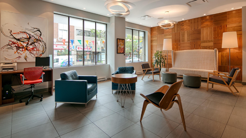 Best Western Plus Hotel Albert Rouyn-Noranda à Rouyn-Noranda: Lobby
