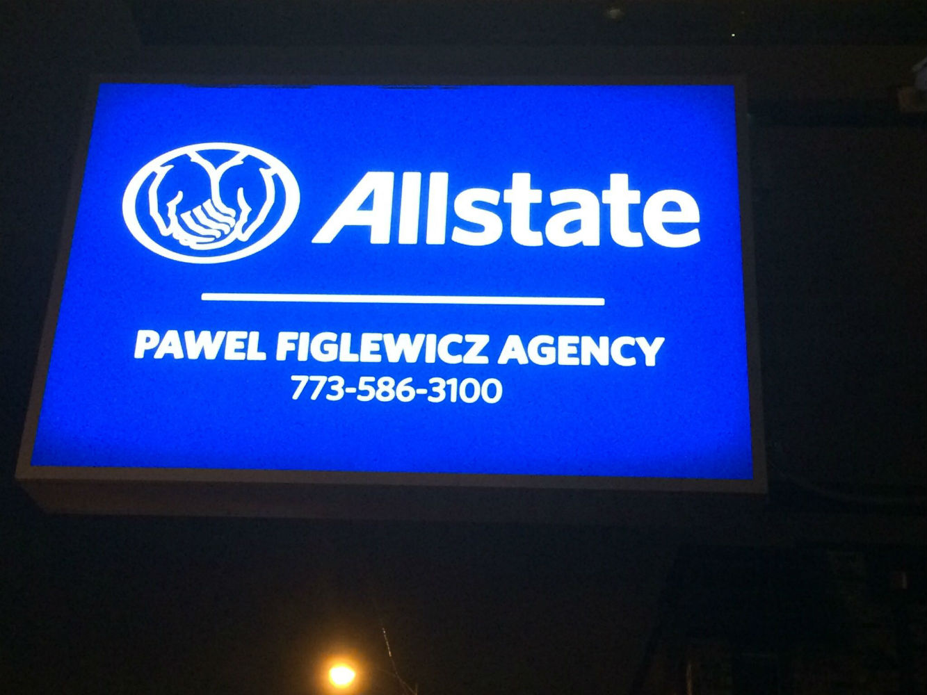Pawel Figlewicz: Allstate Insurance