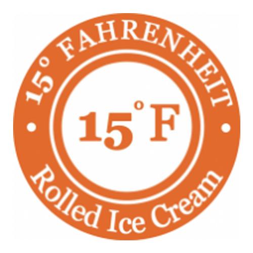 15° Fahrenheit Rolled Ice Cream