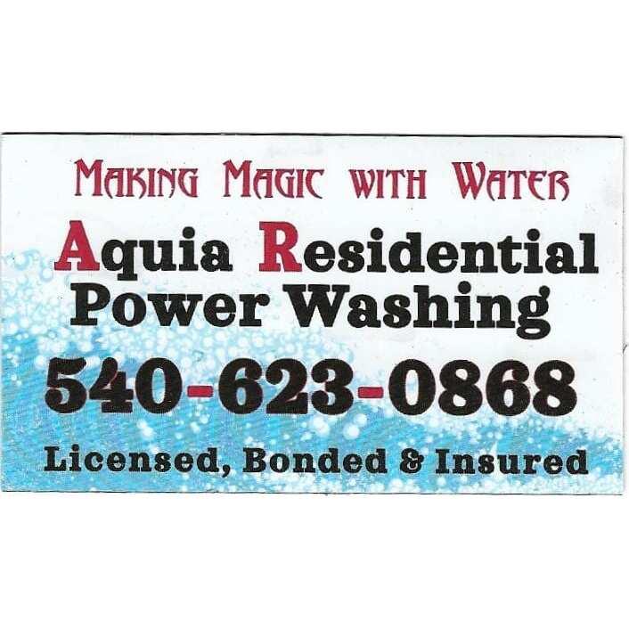 Aquia Residential Power Washing