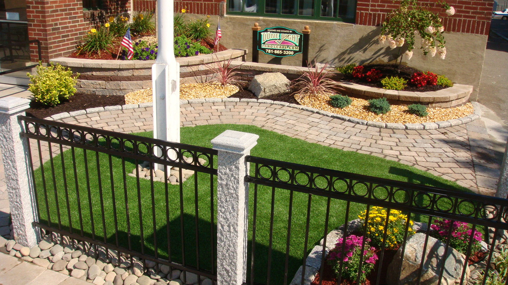 Garden Landscaping Wakefield : Done right landscape construction in wakefield ma whitepages