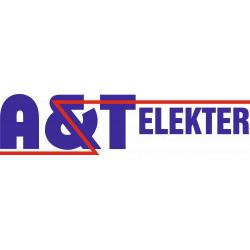 A & T Elekter - Elektritarvete kauplus, elektritööd logo
