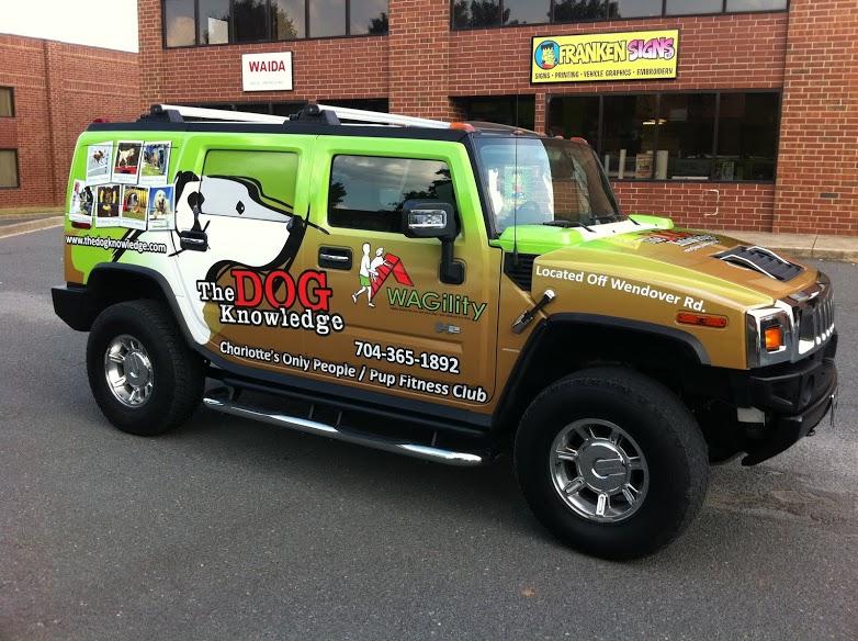 Kranken Signs Vehicle Wraps Charlotte image 1