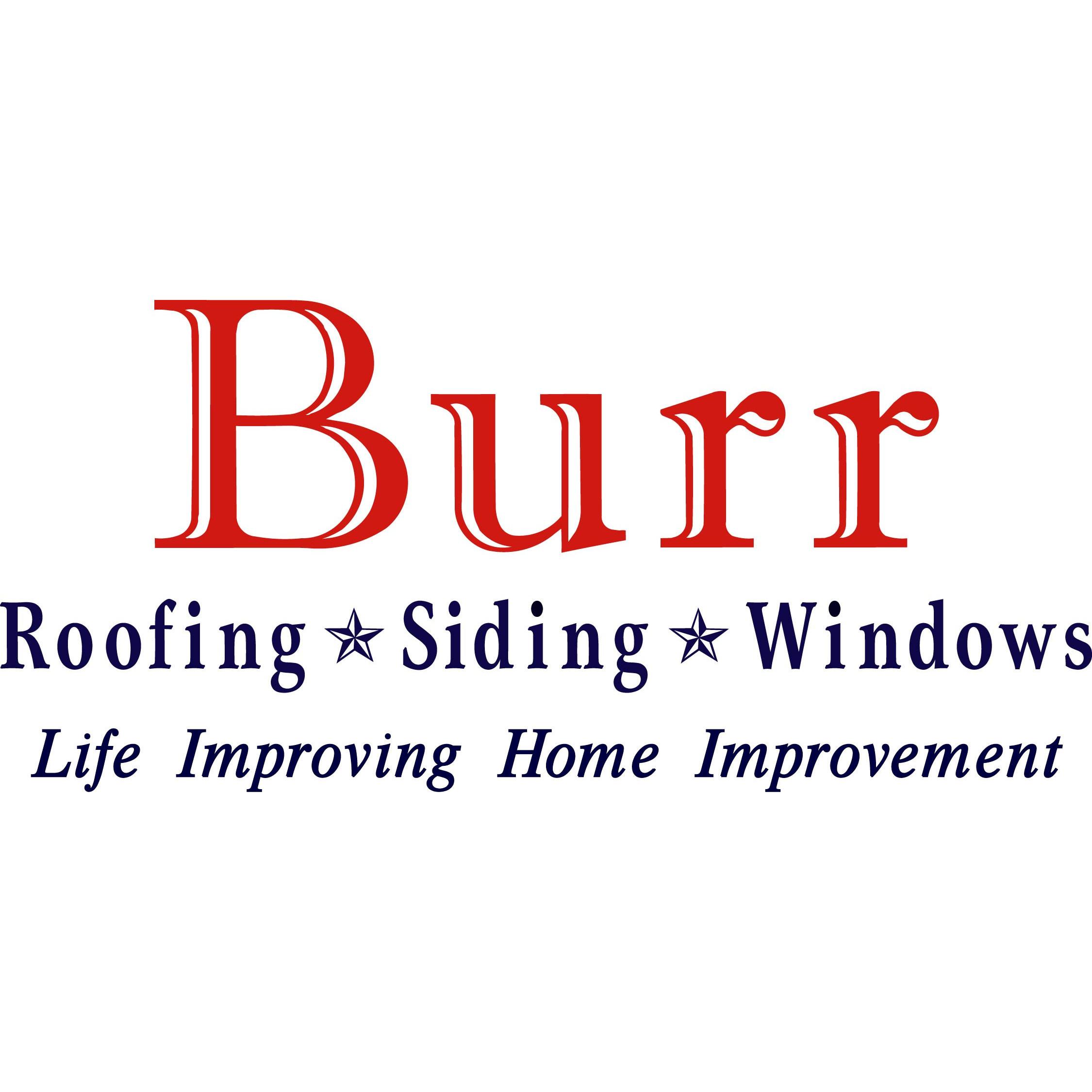 Burr Roofing, Siding, & Window Logo