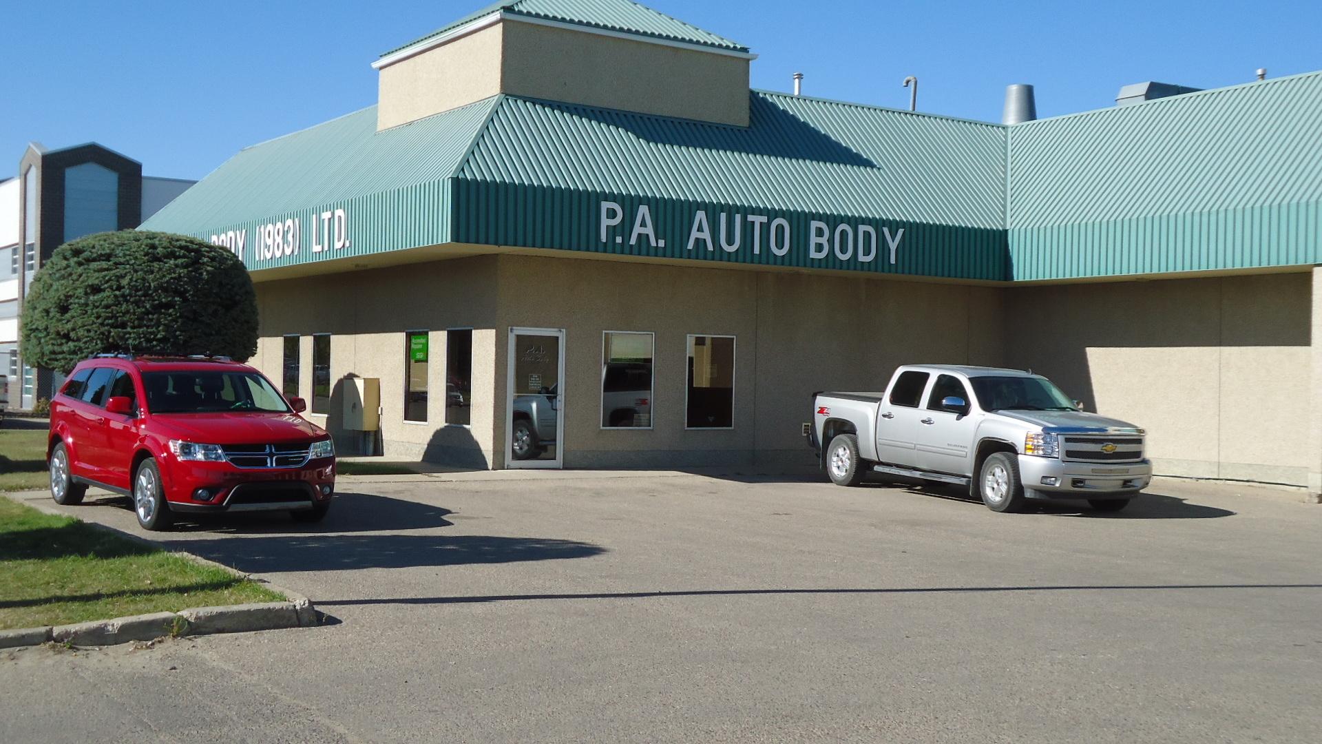 P A Auto Body (83) Ltd