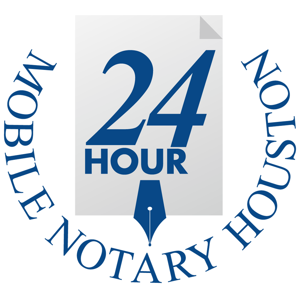 24 Hour Mobile Notary Houston