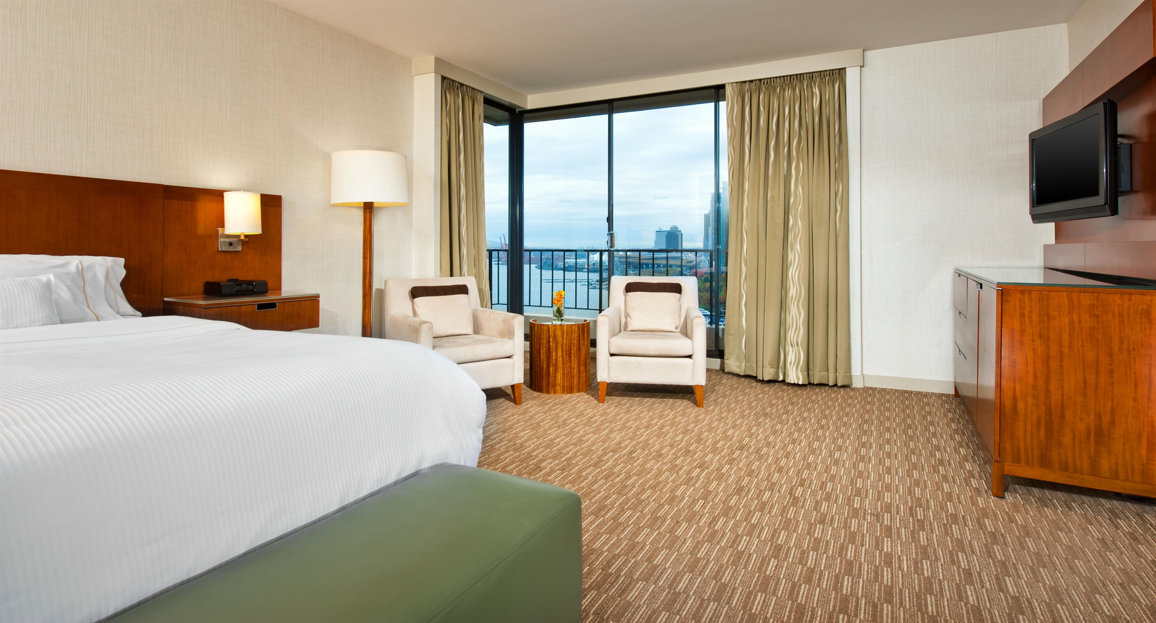 The Westin Bayshore, Vancouver in Vancouver: Tower Guest Room
