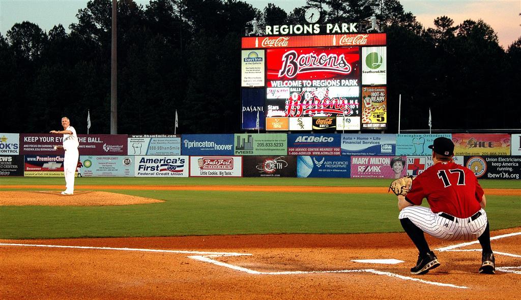Birmingham Barons Minor League Baseball