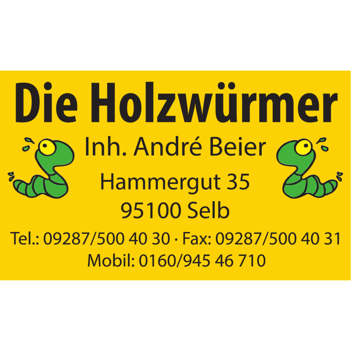 Logo von Die Holzwürmer Inh. Andrè Beier