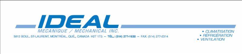 Idéal Mécanique / Mechanical Inc à Montréal