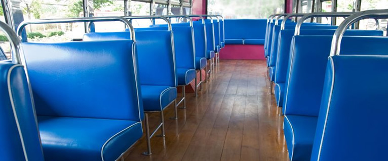 Dale's Auto Upholstery Centre in Medicine Hat: Bus seat upholstery