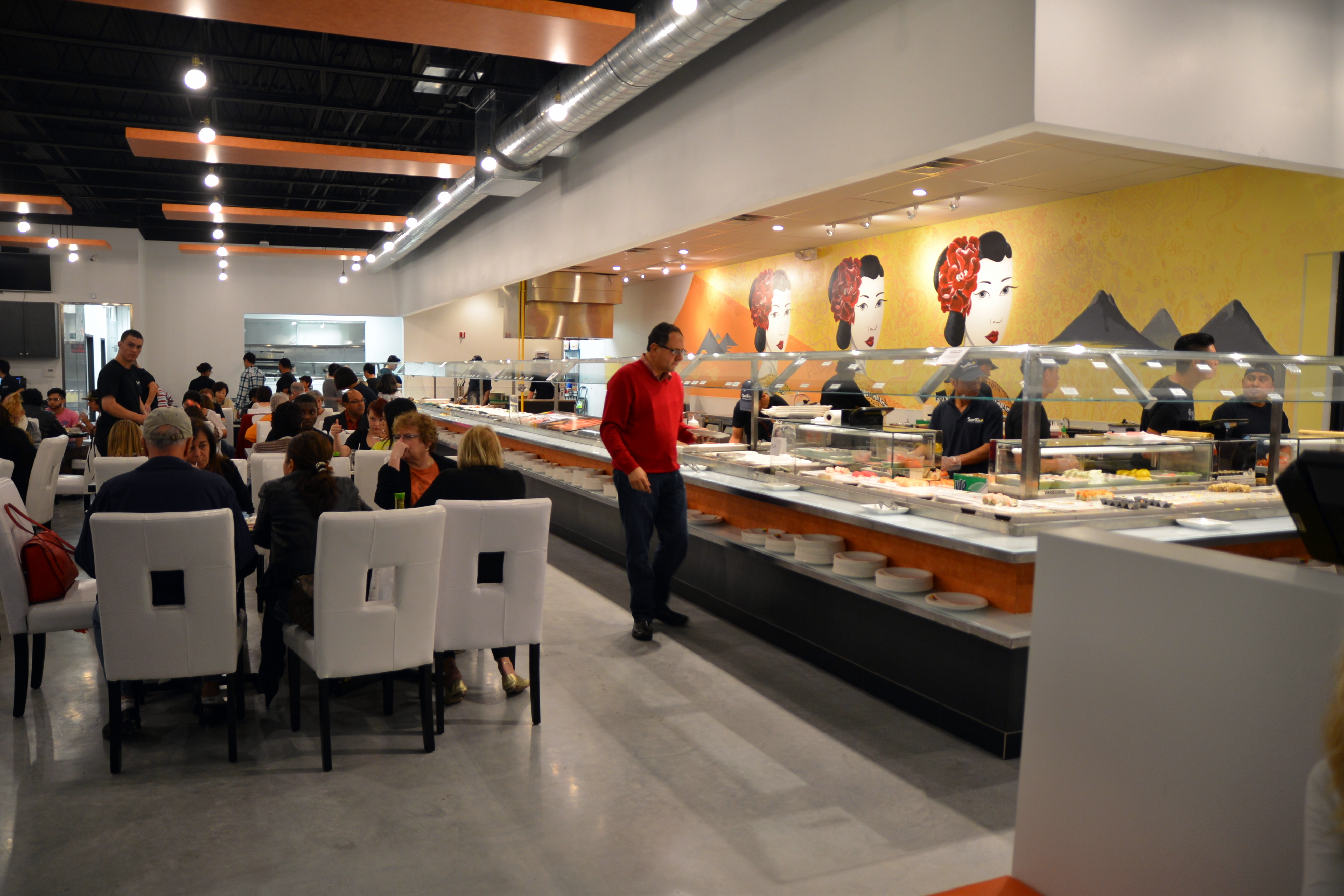 Santo S Modern American Buffet Amp Sushi In Boca Raton Fl