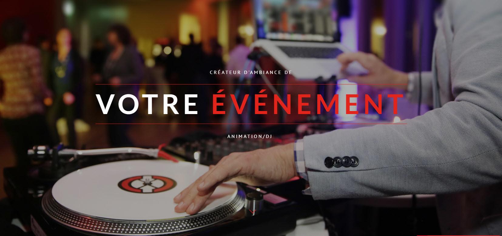 Groupe Decoralium in Trois-Rivières: DJ