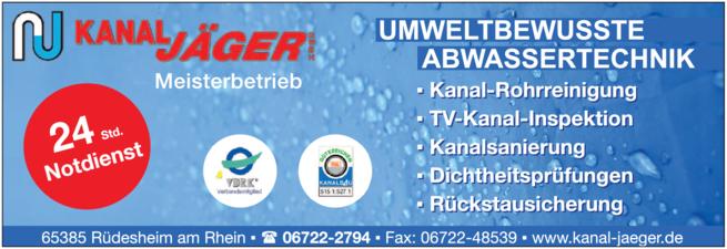 Bild der Kanal Jäger GmbH