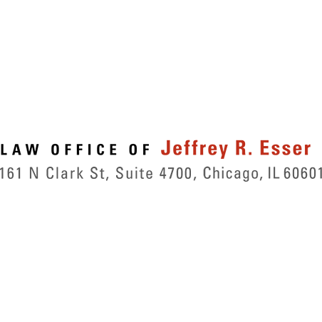 Law Office of Jeffrey R. Esser