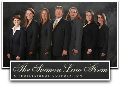 The Siemon Law Firm - ad image