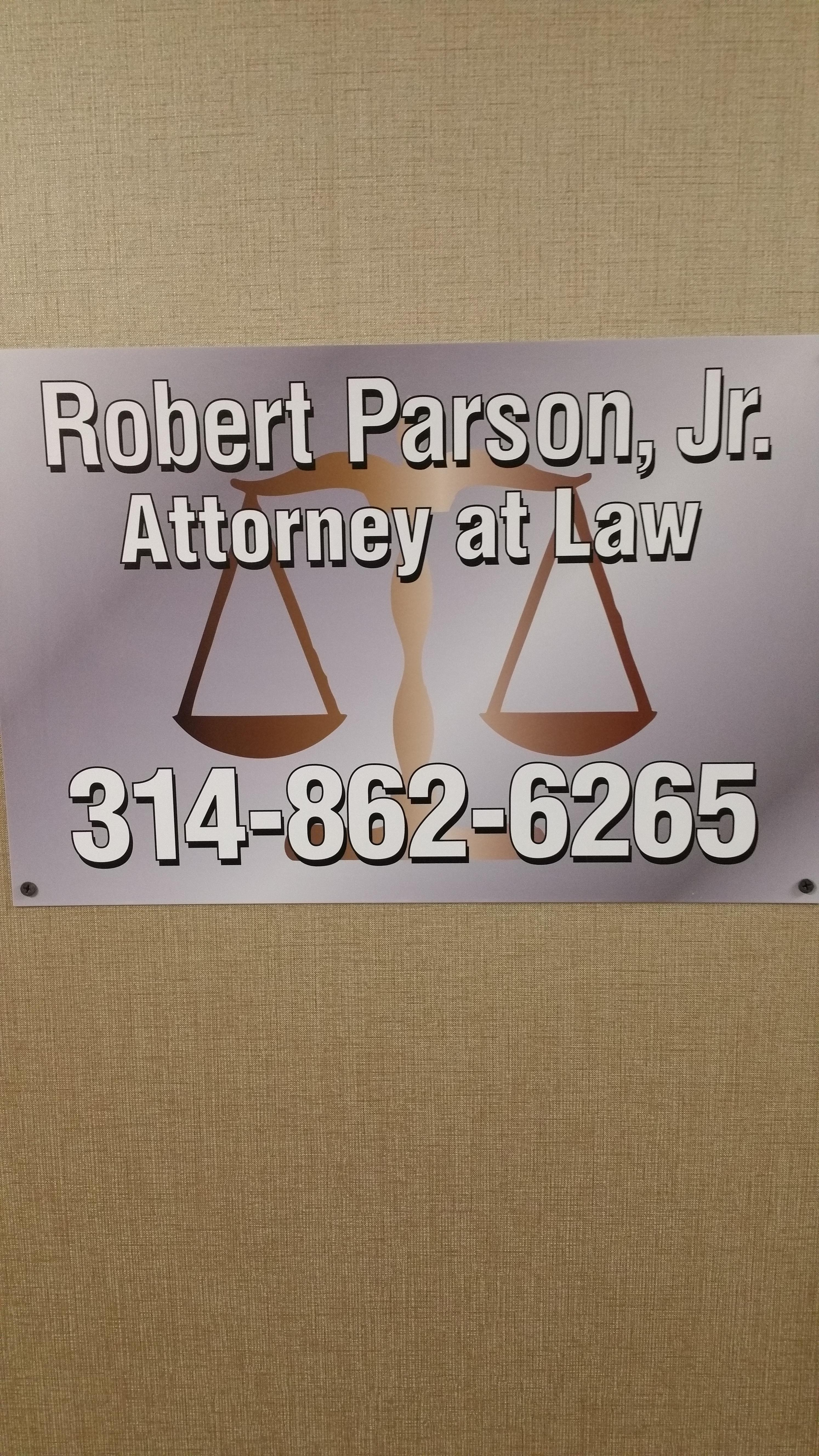 Parson Robert Jr Attorney at Law image 0