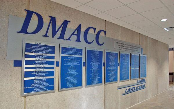 DMACC donor wall