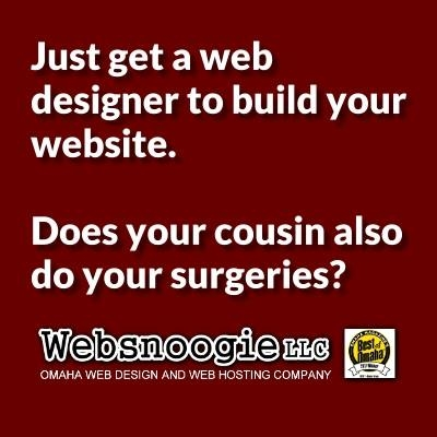 Why you need a web designer.