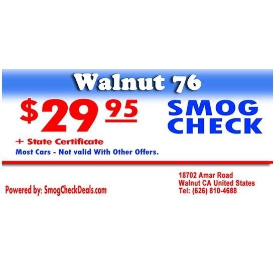 Walnut 76 Smog Check
