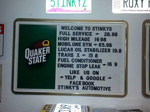 Stinky's Express Lube image 0