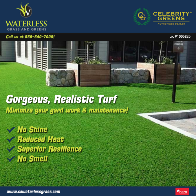 Waterless Grass and Greens image 0