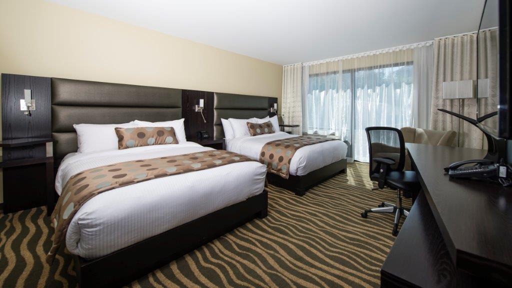 Best Western Plus Hotel Levesque à Riviere-du-Loup: Aqua Two Queen with Park View