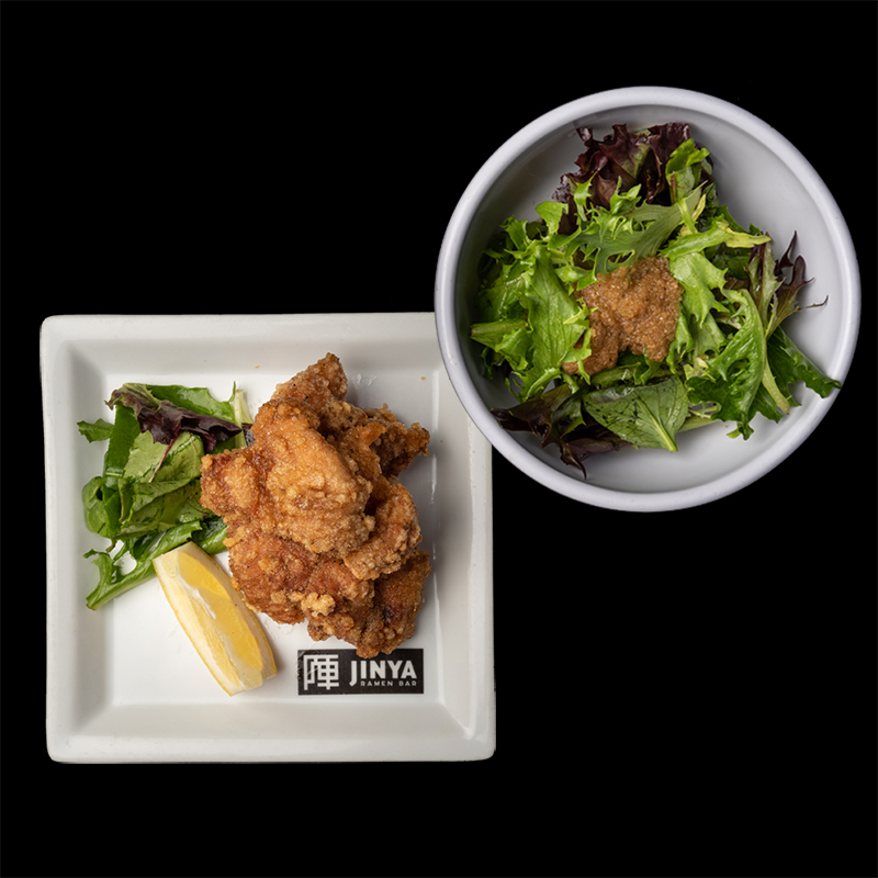 Click to expand image of Crispy Chicken & Salad
