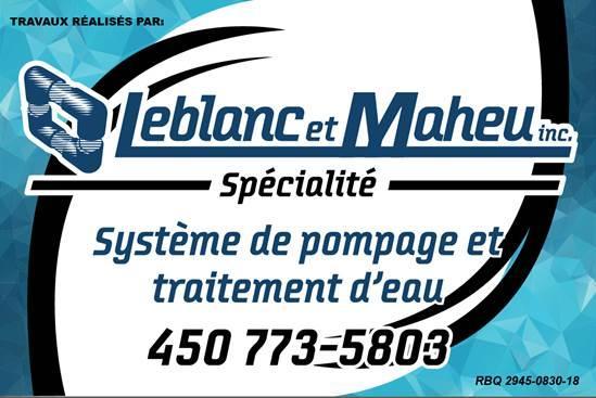 Les Entreprises Leblanc et Maheu Inc à Saint-Dominique