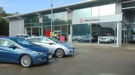 Outside the Vauxhall Hull West dealership