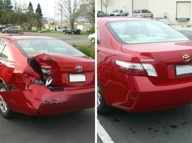 Before & After Call us at (916) 638-3138 http://www.artisticcollision.com/