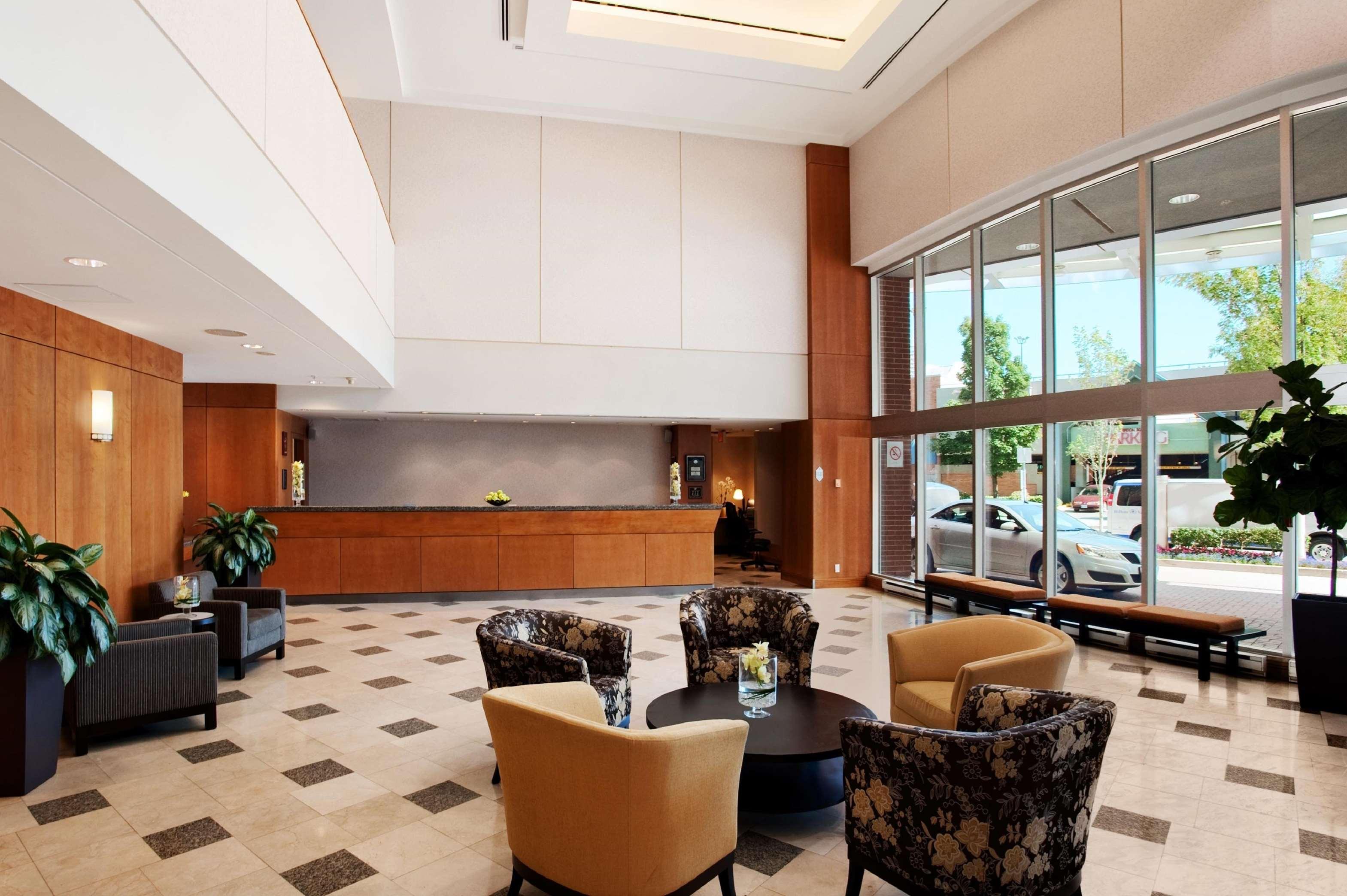 Hilton Vancouver Metrotown in Burnaby: Lobby