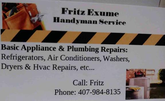 Fritz  Exume Handyman Services
