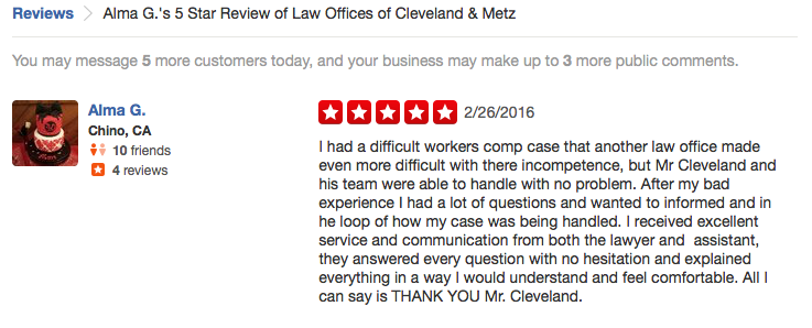 Law Offices of Cleveland and Metz image 6