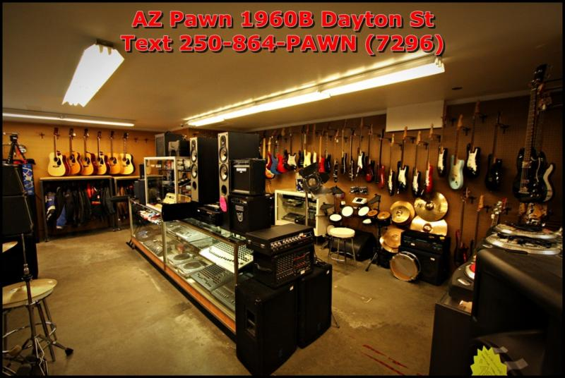 A-Z Pawn in Kelowna: AZPawn.ca Kelowna Pawn Shop will buy and sell anything from A to Z. When you want a great deal on merchandise, visit us to make your choice from our huge selection of jewelry, tools, musical instruments, and much more. Call us at 250-860-4301.