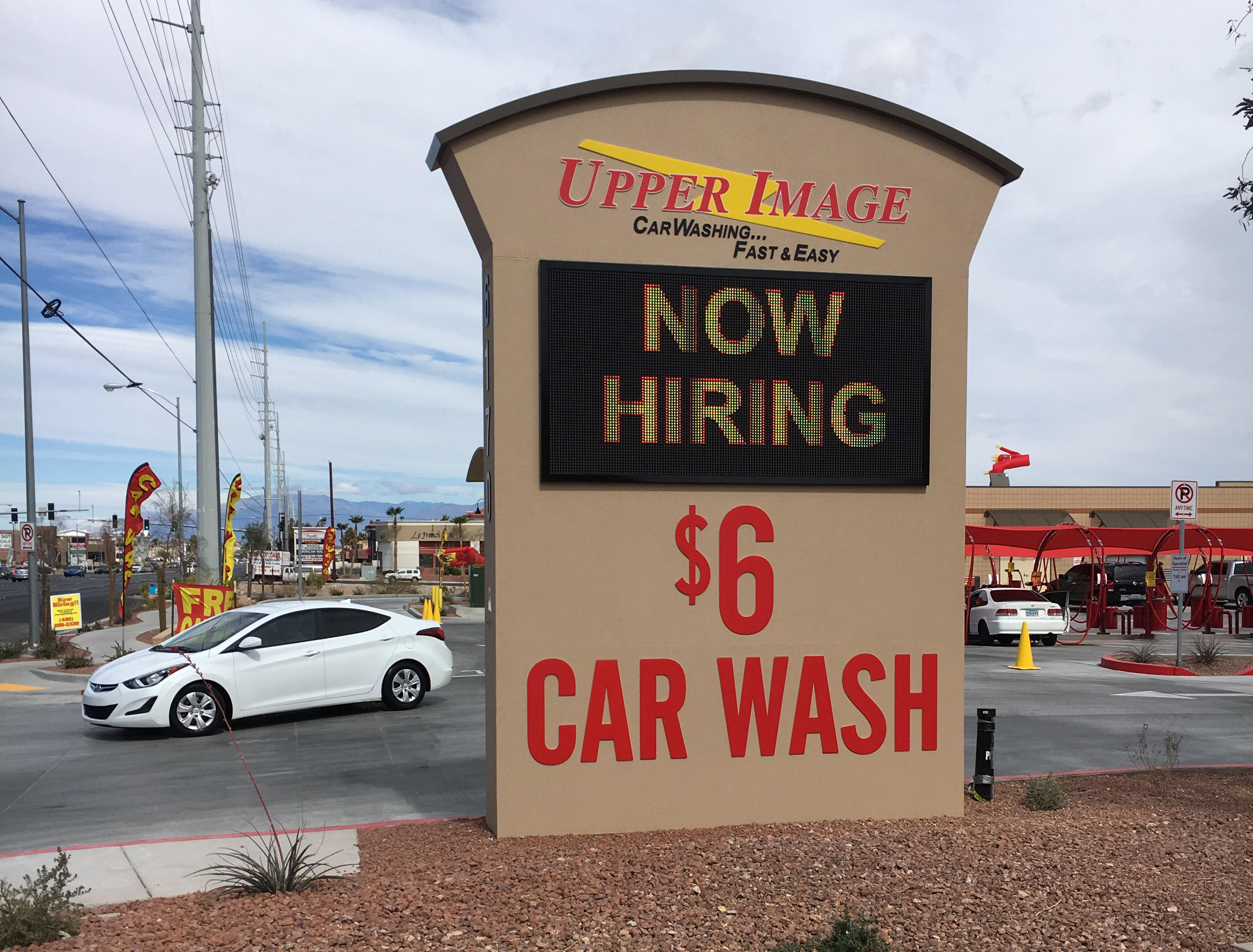 Upper Image Car Wash - S. RAINBOW NV