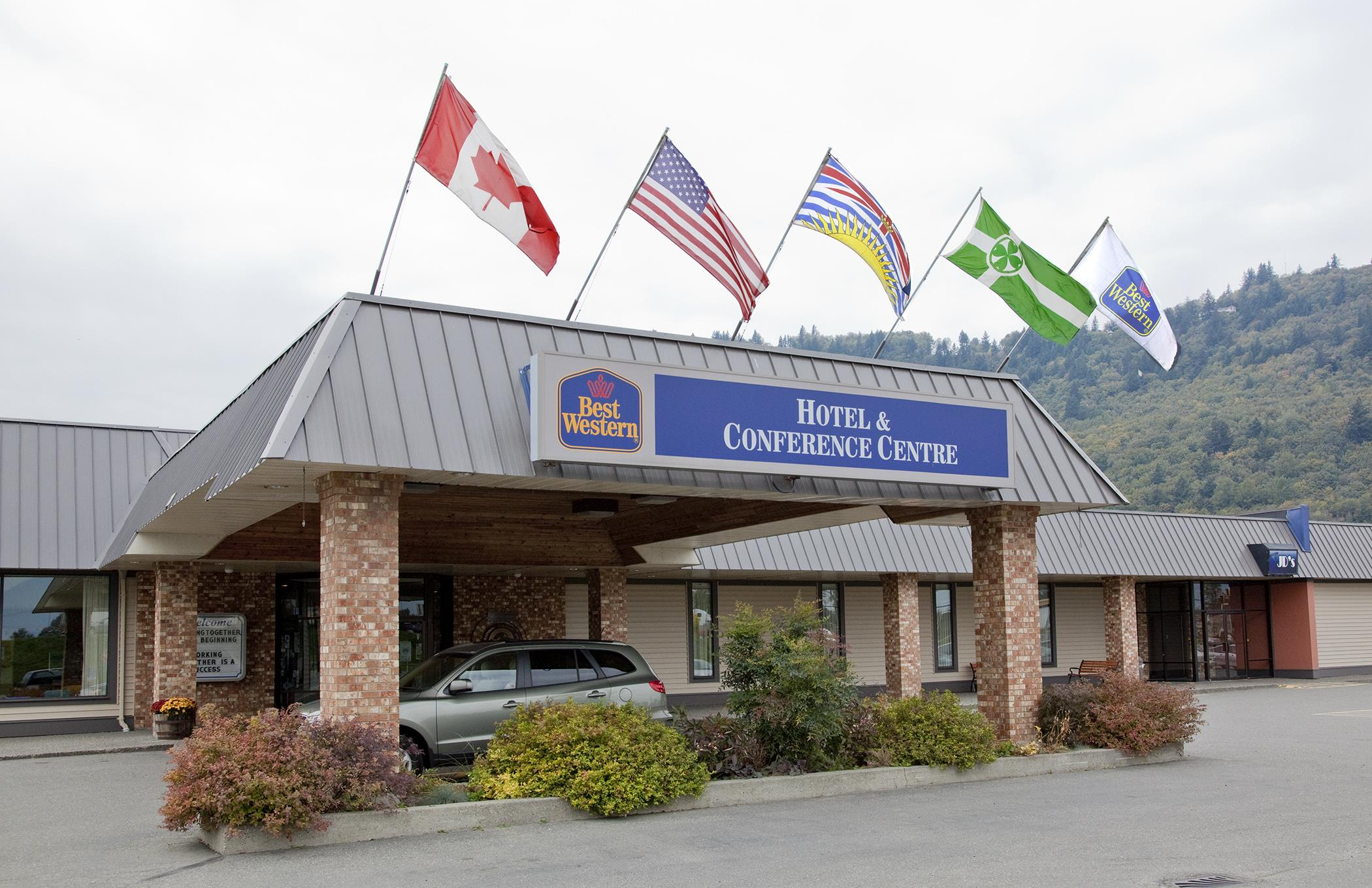 Best Western Rainbow Country Inn in Chilliwack: Entrance