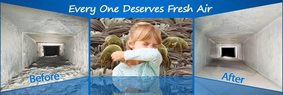clear your allergies with clean air provided by the Air Duct DR located in South Carolina
