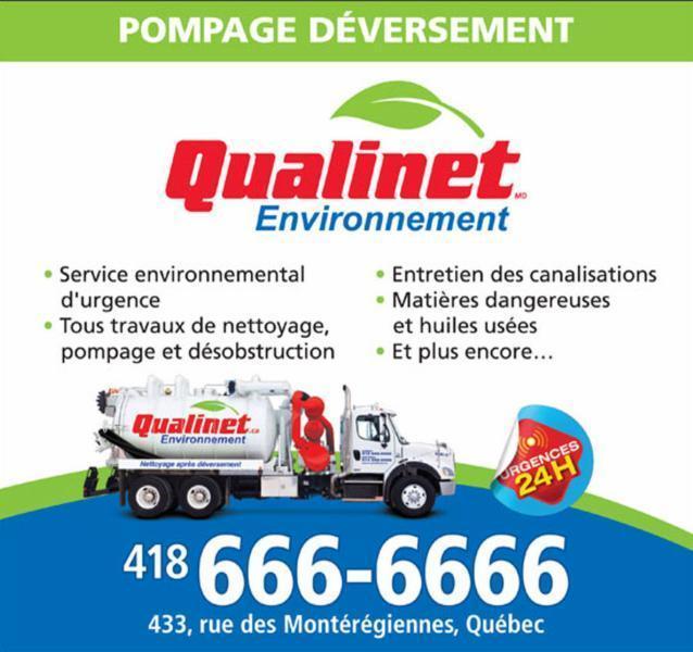 Qualinet à Anjou: Qualinet environment