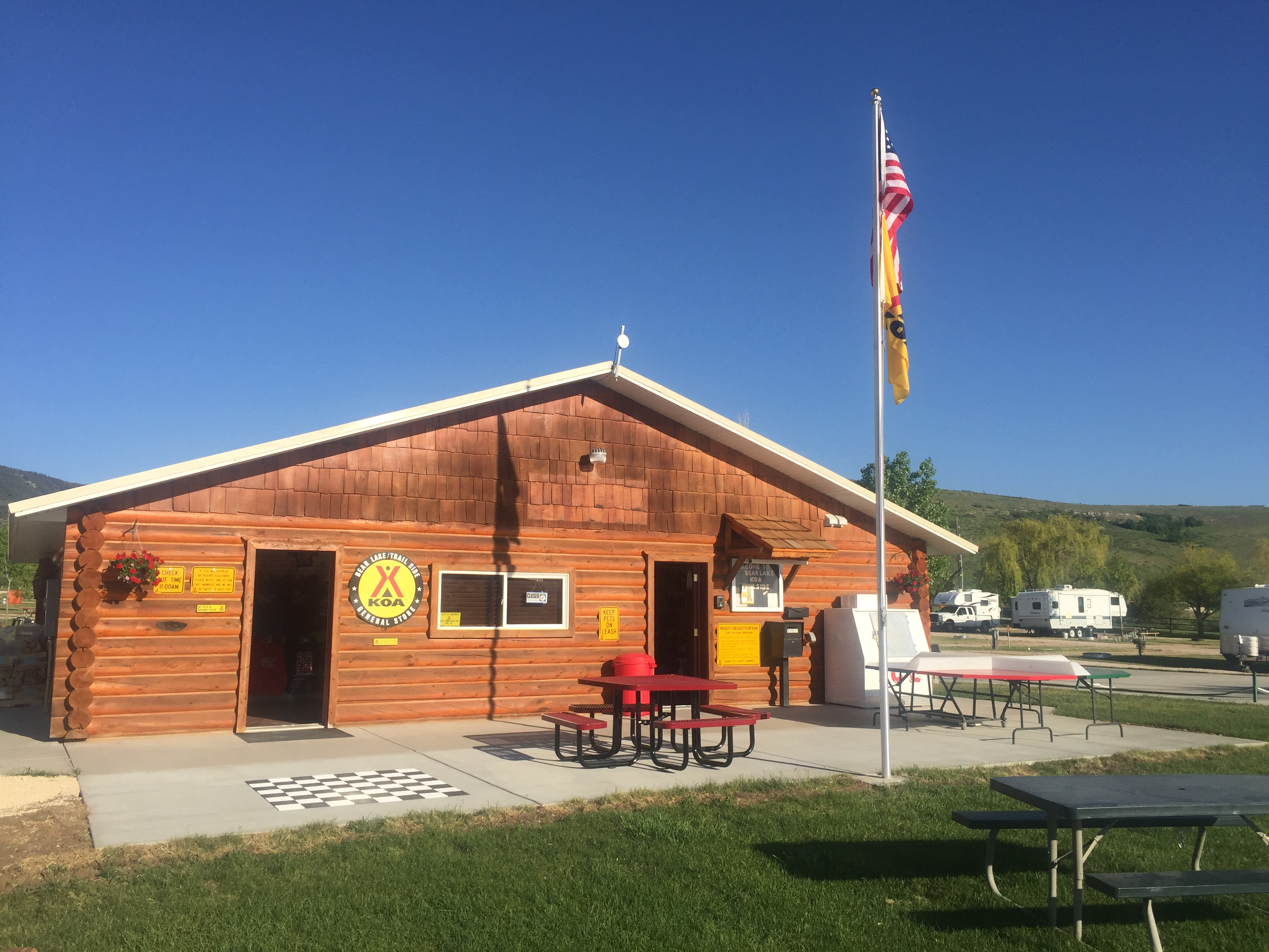 Bear Lake / Trail Side KOA Journey