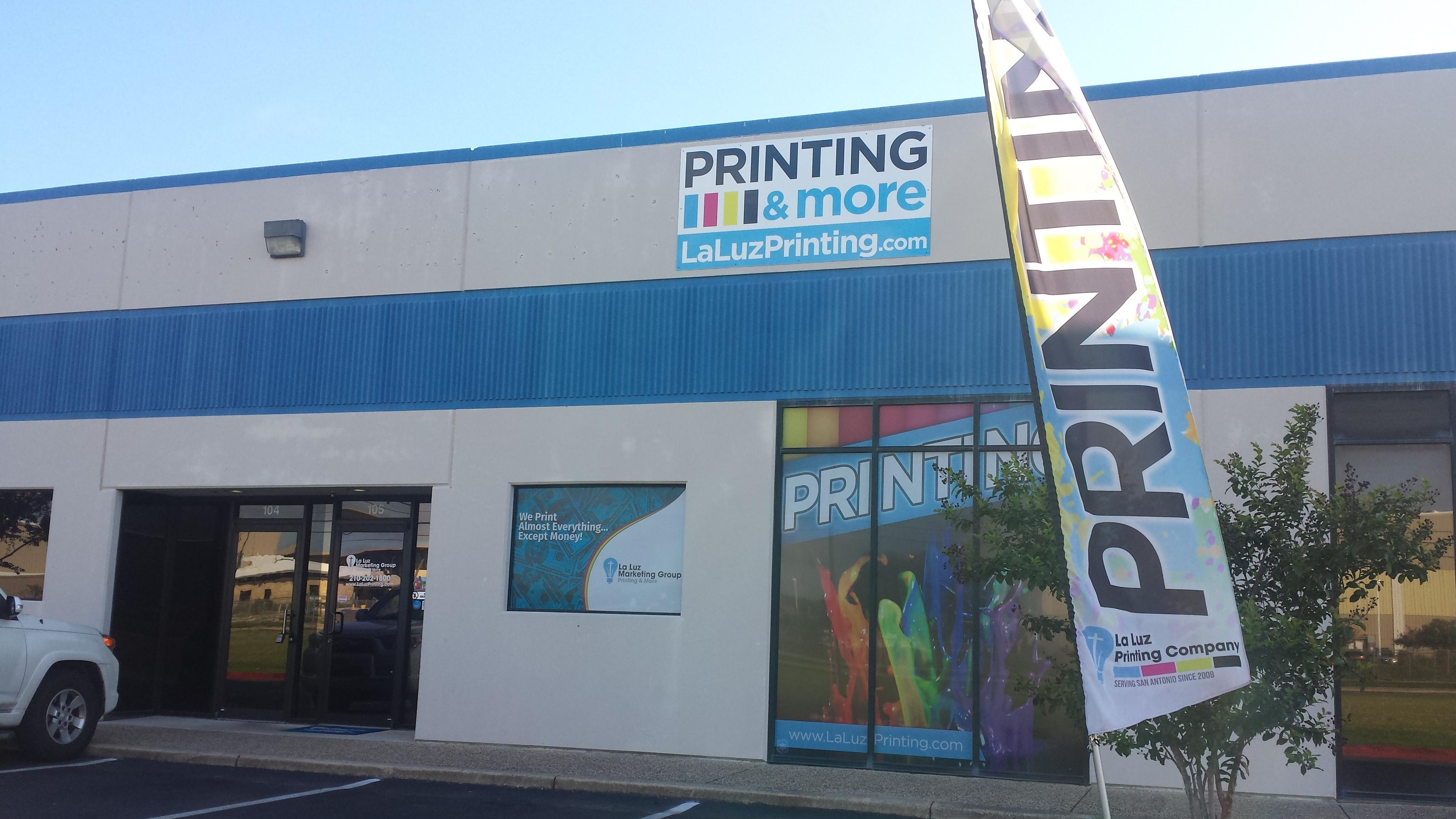 La luz printing company san antonio tx business profile for Shirt printing in san antonio