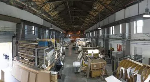 One of Duggal Production Facilities in Brooklyn